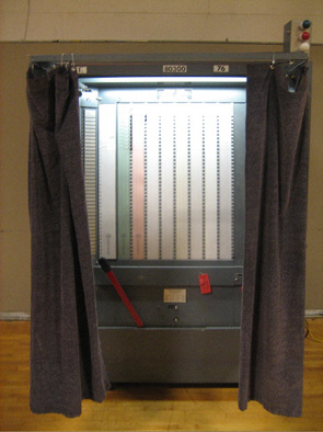 The Old Reliable Mechanical Voting Machine