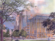 Artist's Rendering Of The Con Center.  Doesn't It Look Nice?Artist's Rendering Of The Con Center.  Doesn't It Look Nice?