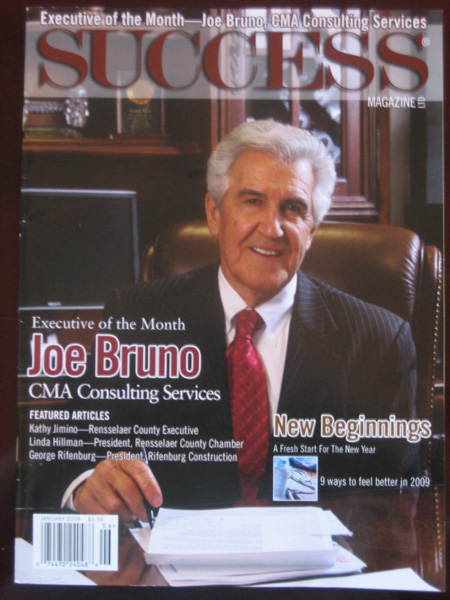 Executive of the Month - Joe Bruno