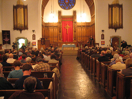 Westminster Presbyterian Shortly Before The Event