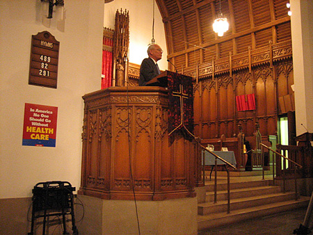 Paul Tonko Speaks From The Pulpit