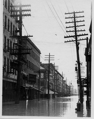 South Pearl Street In Albany, 1913