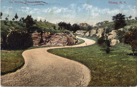 The Ravine In Beaver Park, Now Called Lincoln Park