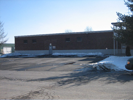 Hoffman Park Teen Recreation Center As Seen From Across The Street (Snow Has Been Temporarily Removed)