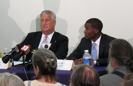 Jennings And Corey Ellis Ready To Debate At CANA
