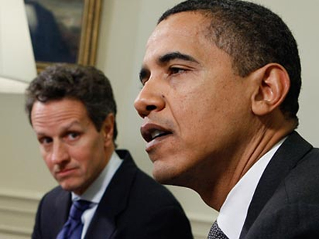Goldman Sachs' Timothy Geithner Carefully Watches The President