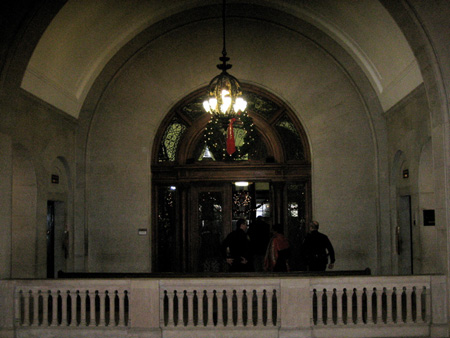 Entrance To The Common Council Chambers