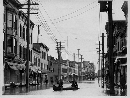 South Pearl Street In Albany's South End, 1913