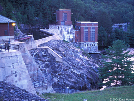 Conklingville Dam And Hydroelectric Station