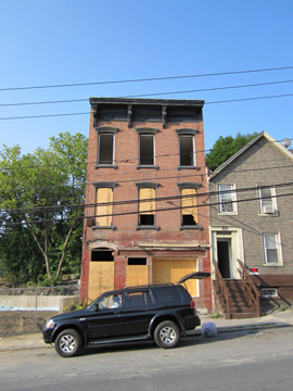 Brick House On Morton Avenue To Be Renovated