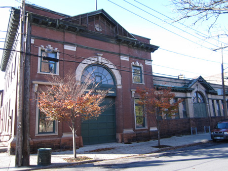 Former Firehouse, Now St. Ann Hall