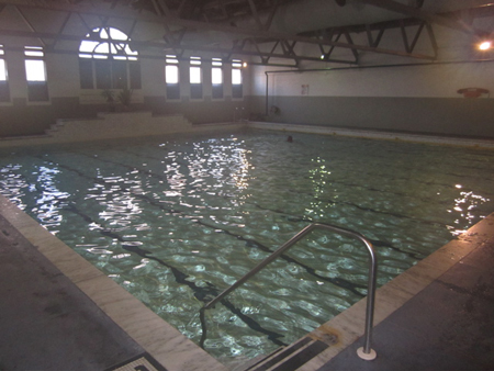 The Pool At Albany's Bath House #2, Photo Taken As The Lens Steams Up