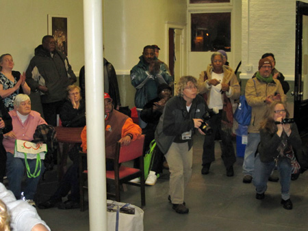 Some Of The Crowd At Bath #2 On Nov. 8, 2010