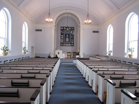 The Old Albany UU Sanctuary, Now A Large Chapel