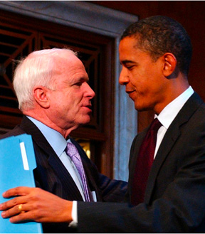Corporate Comrades Obama And McCain Are Personally Responsible For NDAA Rider 1021
