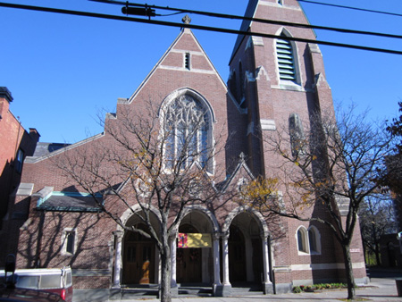 St. Francis Catholic Church, Formerly St. John/St. Ann's Church, Across The Street From Bathhouse #2