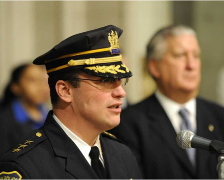 Chief Steven Krokoff With Jennings In This Past January