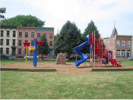 The New Playground And Play Area At Giffen Elementary Public School