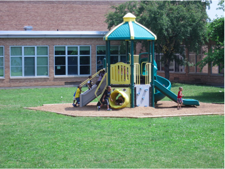 The Older Play Apparatus For The Really Little Kids