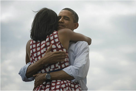 Photo That Accompanied President Obama's Nov. 7 Victory Tweet