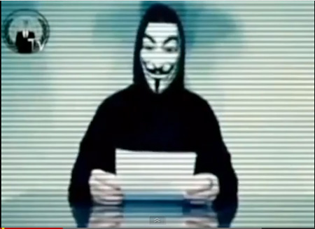 Spokesperson From Anonymous Delivers A Pre-Election Warning To Karl Rove
