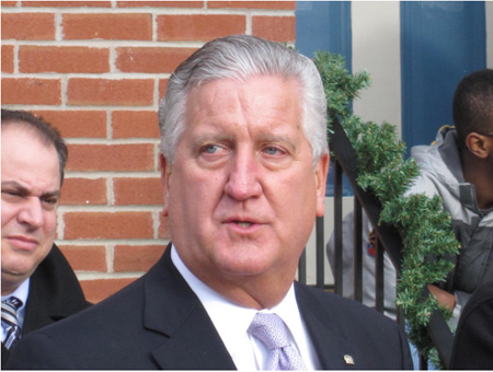 Current Mayor Jerry Jennings On Dec. 17