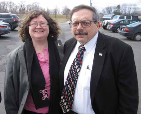 Dominick Calsolaro And His Very Understanding Wife Mary
