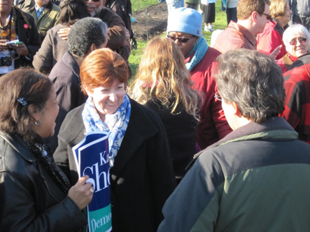 Kathy Sheehan Officially Announcing Her Candidacy For Mayor, Nov. 2012