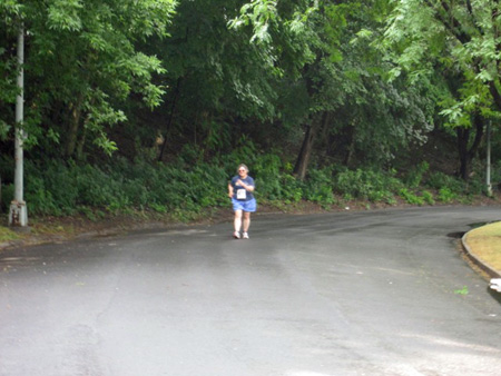 The Wife Coming In Dead Last At A 5K, Lincoln Park 2012