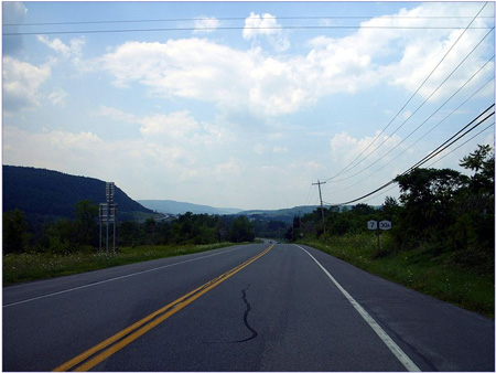 Routes 7 And 30A Near Schoharie NY