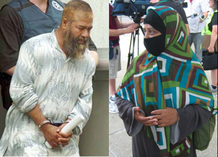Mohammed Hossain at His Arrest and Fatima Hossain
