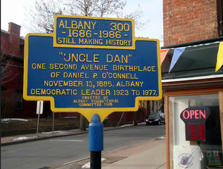 Historical Marker On South Pearl Street