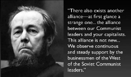 Nobel Prize Winning Author And Soviet Dissident Alexandr Solzhenitsyn, 1975