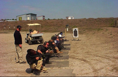 Blackwater XE Corporation Mercenaries Train At Their Private Military Base In North Carolina
