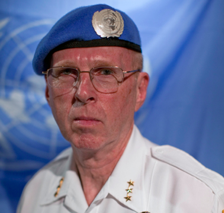 John Nielsen, Who Presided Over Denial Of Service As Albany Police Chief, Now Trains Police For The UN In Haiti And Liberia