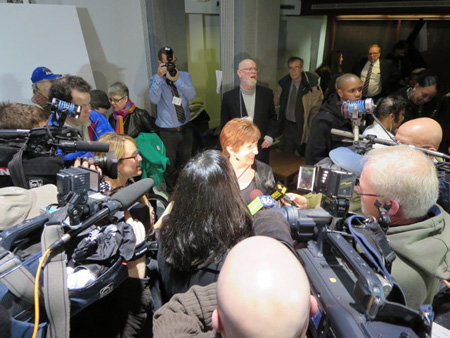 Kathy Sheehan's First Press Conference As Mayor (click on photo for larger size)