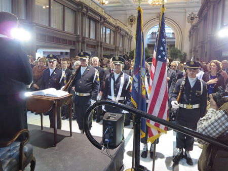 North Albany American Legion Concludes The Inauguration