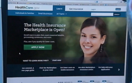 The Now Famous Obamacare Website