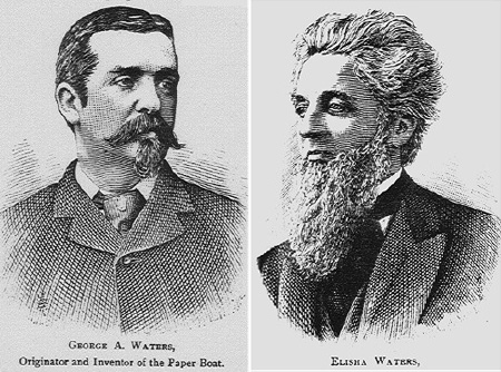 Inventor Of The Paper Boat George Waters And His Father Elisha