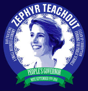 Zephyr Teachout Logo Made By An Enthusiastic Admirer