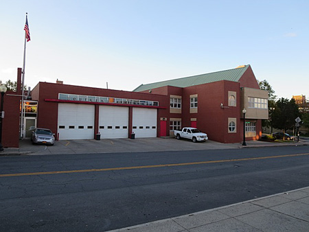"South End Firehouse (""South Station"") At South Pearl Street And Morton Avenue"