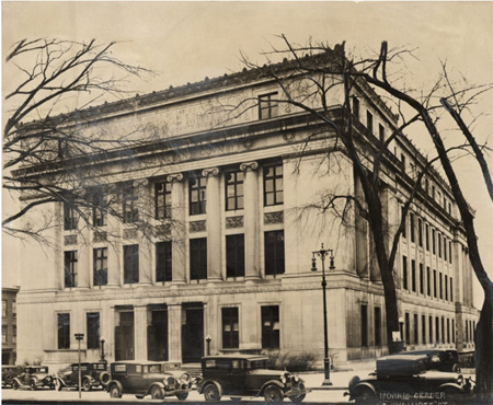 Albany County Courthouse Where The County Legislature Meets, Photo From The 1920s