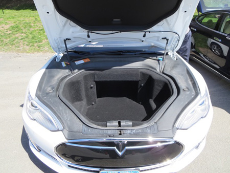 Under The Hood Of The Tesla Electric Car