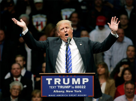 Donald Trump In Albany: Make America Hate Again