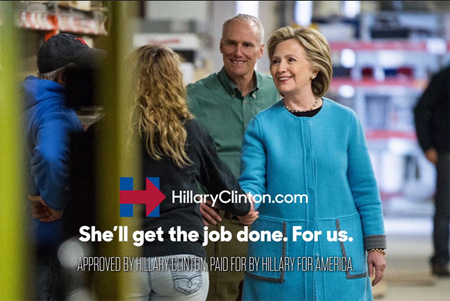 TV Ad For Hillary Clinton