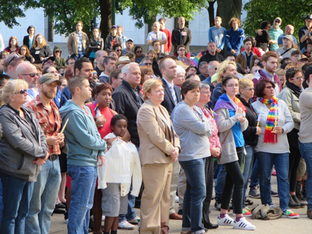Vigil For The Orlando Shooting At The State Capitol