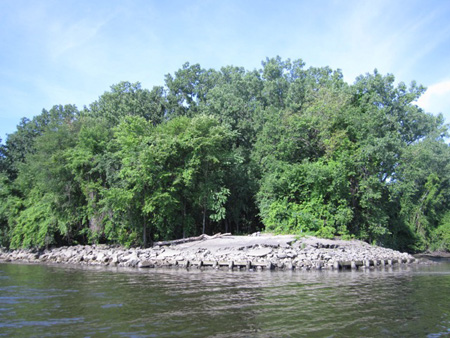 The South Shore Of Island Creek Just Past The Port Of Albany, Where The Other Pipeline Will Cross The Hudson