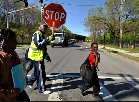 Be Be White Of The Ezra Prentice Tenants Association Stops The Truck Traffic On South Pearl Street