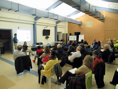 Another Well Attended Meeting At The Ezra Prentice Community Room On March 9