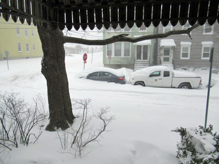 View From My Front Door On March 14